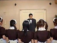 Epic Japanese doll Yume Imano, Hina Otsuka, Yuria Hidaka in Crazy Group Sex, Blowjob JAV movie