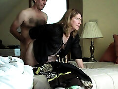 Dad and step mother in fuck-a-thon video