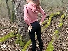Forest Running, Rectal Fucking, Public Cumming