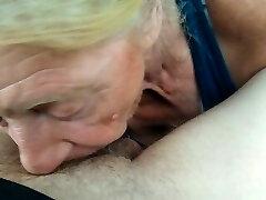 Grannie grabs an afternoon PROTEIN shake, yummy 🤤