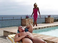 Nicoletta Blue fucked at the pool