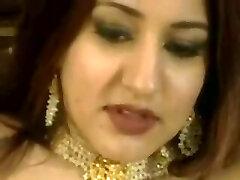 Arabian goddess rides white cock and loves anal