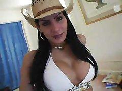 Pretty cowgirl solo