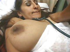 Everyones favourite busty indian in nurses uniform