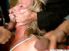 Rough BDSM hardcore FYFF Gangbang loads of cock fighting enjoy!