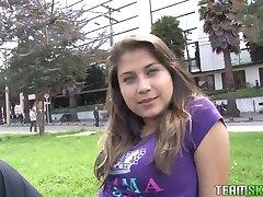 Oyeloca Busty hot latina Yulissa Camacho first time hardcore