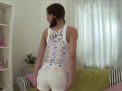 moira likes panties inside pussy