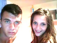 Young Couple's Fucking On Webcam