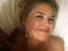 Sweet Blonde Girl Getting A Facial POV