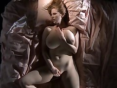 Big tits wife with red head masturbation to orgasm