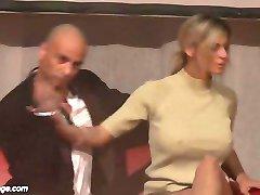 hard banged on public stage