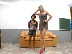 Brazilian severe trampling foot domination