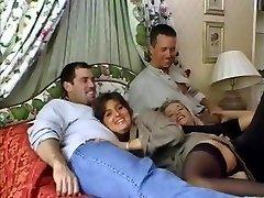 Raz- due coppie in un letto
