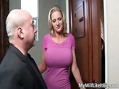 Astounding hot great huge boobs blonde slut part3