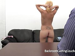 Casting Couch Painal for Amateur Desiree