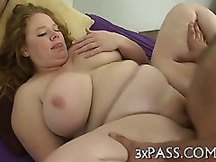 Sex with mature plump