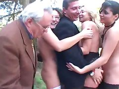 Italian Mature Couples Fuck Party