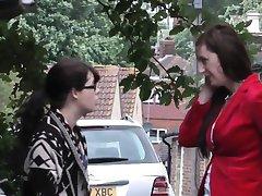 Deutsch Reife pickingup unschuldige Schulmädchen