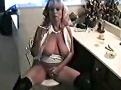 Kinky smoking milf