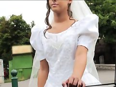 Desesperado noiva Amirah Adara fodida em algum lugar público