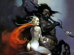 Erotic Desire Art 3 - Frank Frazetta