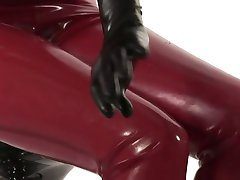 Total Enclosure in Red Latex