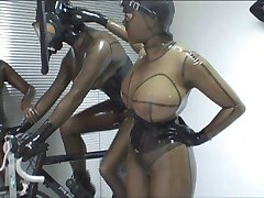 3 rubber ladies