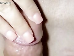close-up fuck end with cream pie