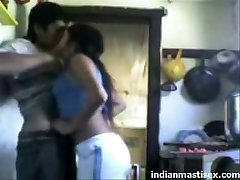 indian cousins fucking in kitchen and bellowing