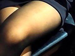 plus nylon jambe toucher