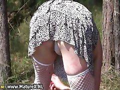 Horny mature nudists cums part4