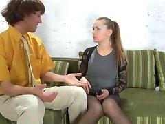 Młodzi Rosjanie M-F Relaksacyjny, Sex Klasyczny Strapon Gry 05