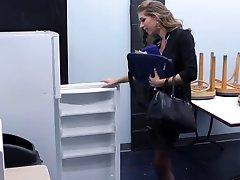 Office girl & Janitor Anal