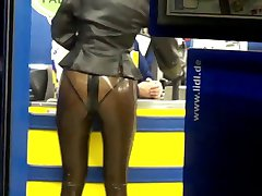supermarket latex lady