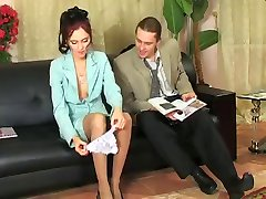 Mooie secretaris