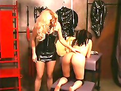 Misstress spank a cutie