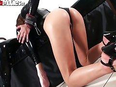 Sluts on latex go crazy