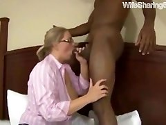 Sharing my Nerdy Mature Cuckold for Rough Rectal Lovemaking with BBC on WifeSharing666com