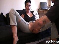 Amateur esposa monstruo coño fisting orgasmos