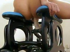 nueva sexual makinglove de la máquina en acción