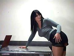 comer una bonita secretario