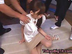 एशियाई, रीना Tomoa छिड़काव किया जाता है 2