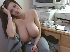 Sexy big titted kvinne