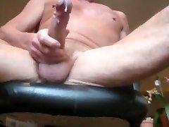 Old Dad Cumming Hot