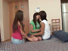 Anne, Monica B., Reilly  Triple joy