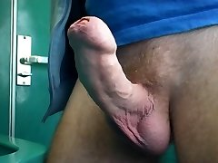 jerk off in instruct wc, part 1