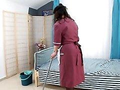 fellow plumb hairy mature maid