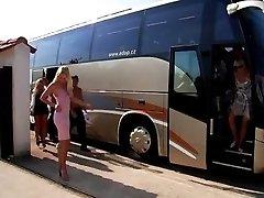 Автобус шлюха - типичная секс-вечеринке - часть I