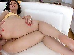 Sarah Shevon getting her butt fucked
