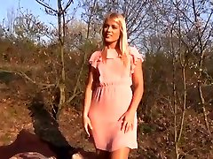 Brilliant Blonde first time luving Public Sex